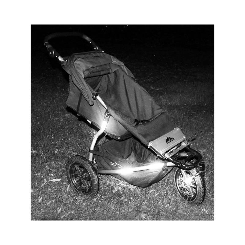 Reflextejp barnvagn AddBaby