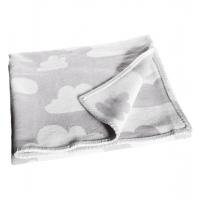 Barnfilt moln grå Färg & Form