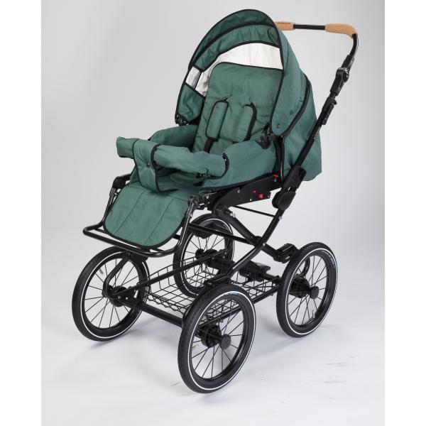 Barnvagn Naturkind Vita Selbel