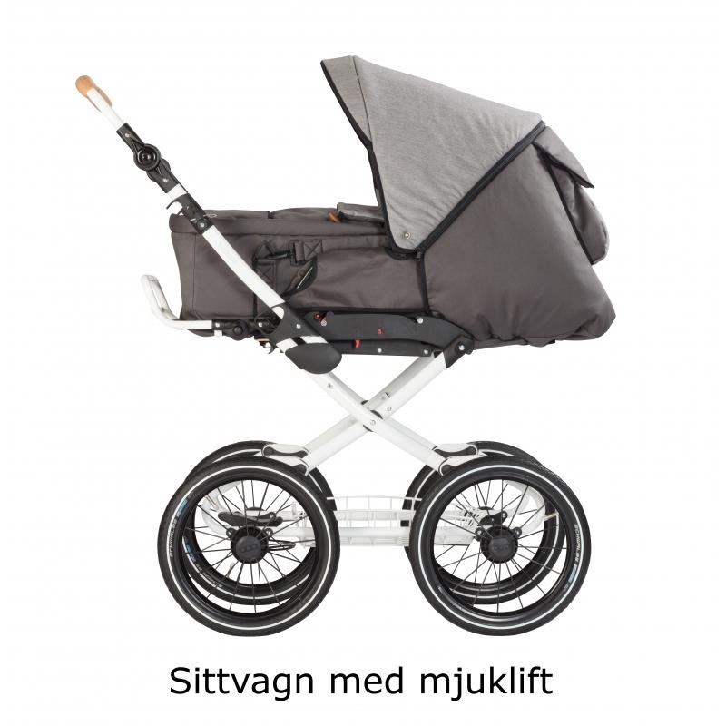 Barnvagn Naturkind Vita Walnuss