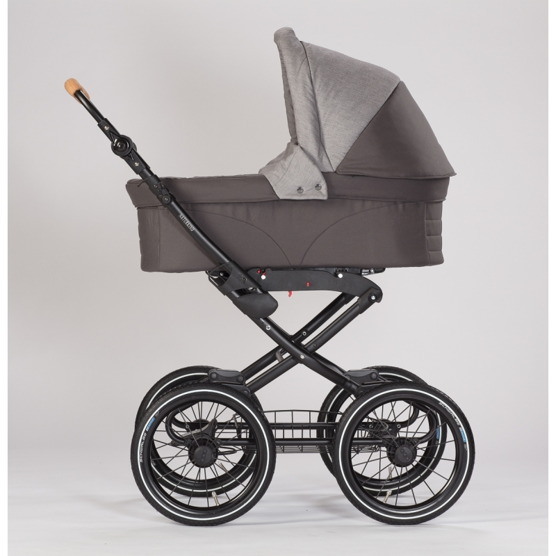 Barnvagn Naturkind Vita Waschbär