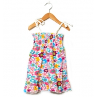Barnklänning smock (74 till 110)