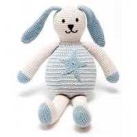 Gosedjur kanin blå