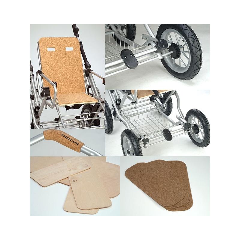 Barnvagn Terra - grå