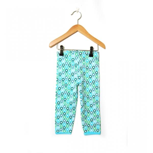 Katvig leggings grön | aqua miniapple