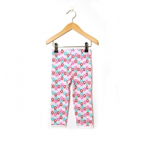Katvig leggings rosa|aqua (68 till 92)