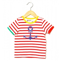 Katvig t shirt marin (80, 116)