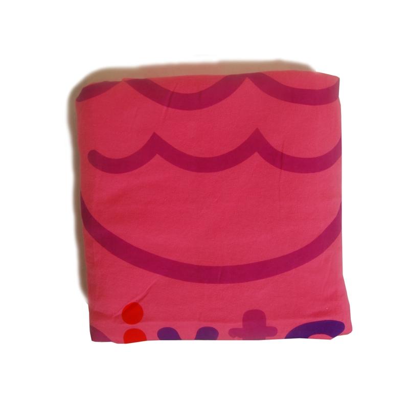 Katvig barnfilt rosa