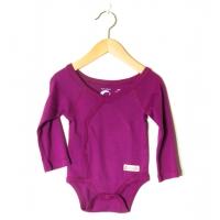 Baby body omlott lila (62, 68)