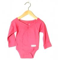 Baby body omlott rosa (62)