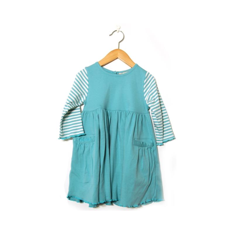 Barnklänning blå