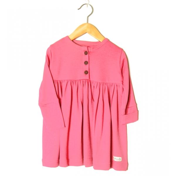 Barnklänning rosa
