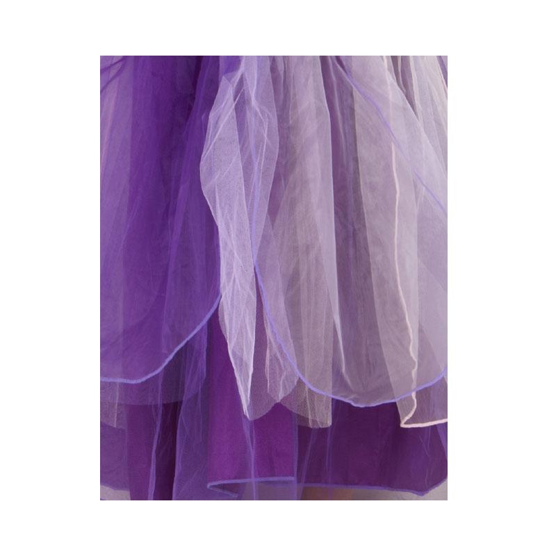 Fairy Dress lila sammet - maskeradkläder barn