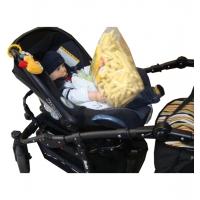 Adapter bilbarnstol Varius barnvagn
