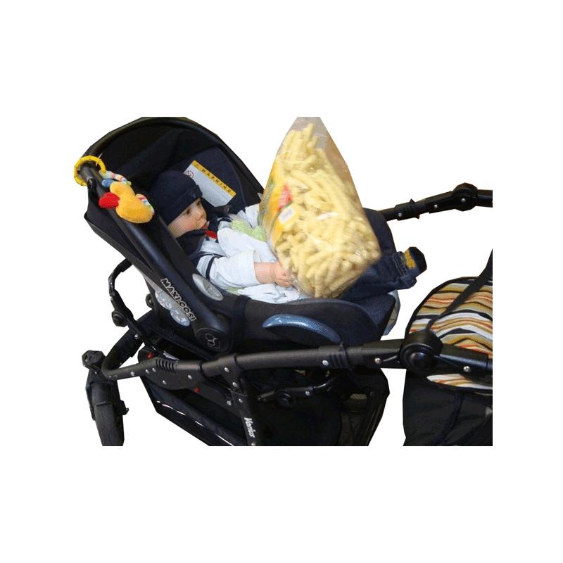 Rem-adapter bilbarnstol Varius barnvagn - Römer