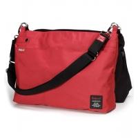 Skötväska - Babymel X2 svart | röd