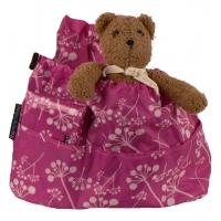Väskinsats lila baby organiser