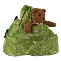 Väskinsats grön baby organiser